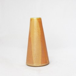 Vase conique jaune 4