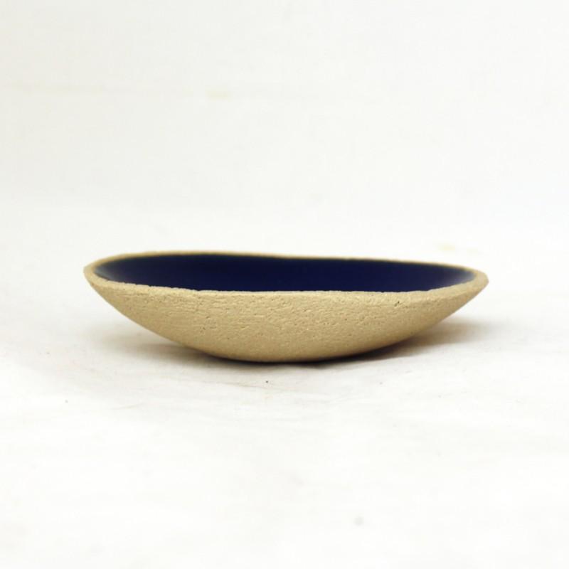 Coupe culbuto ronde bleu foncé