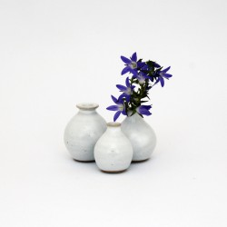 Mini-vases blancs