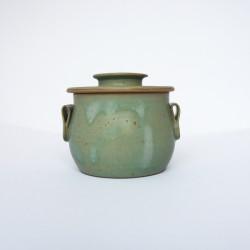 Beurrier à eau avec bouton, vert rustique
