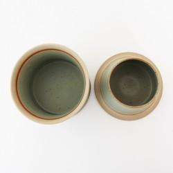 Beurrier à eau cintré aux pétales de lotus, Vert clair