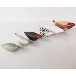Oiseaux en céramique
