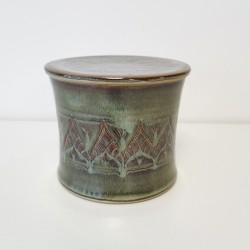 Beurrier à eau cintré pétales de lotus, brun vert